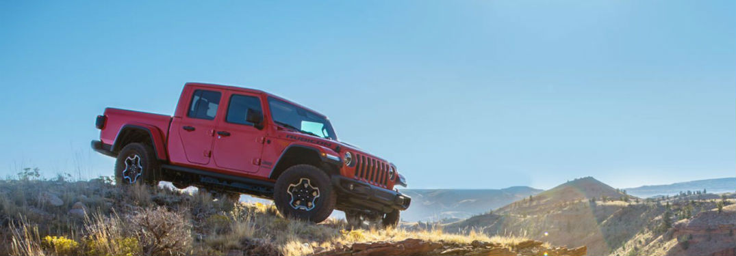 What are the Color Options for the 2020 Jeep Gladiator?
