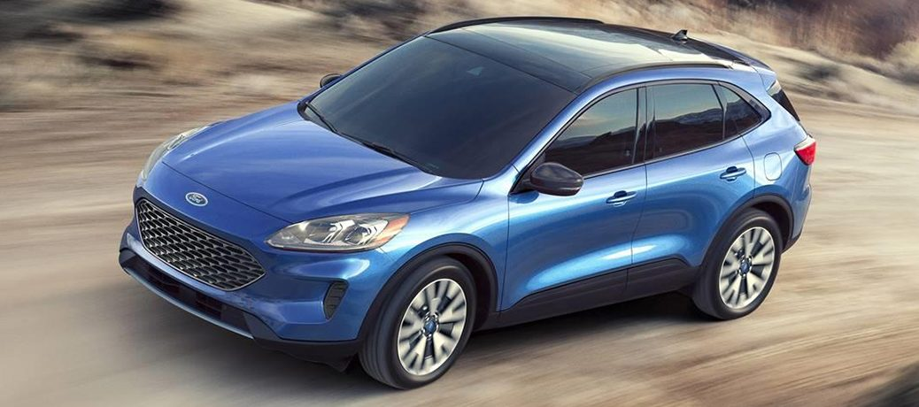 2020 Ford Escape driving on road