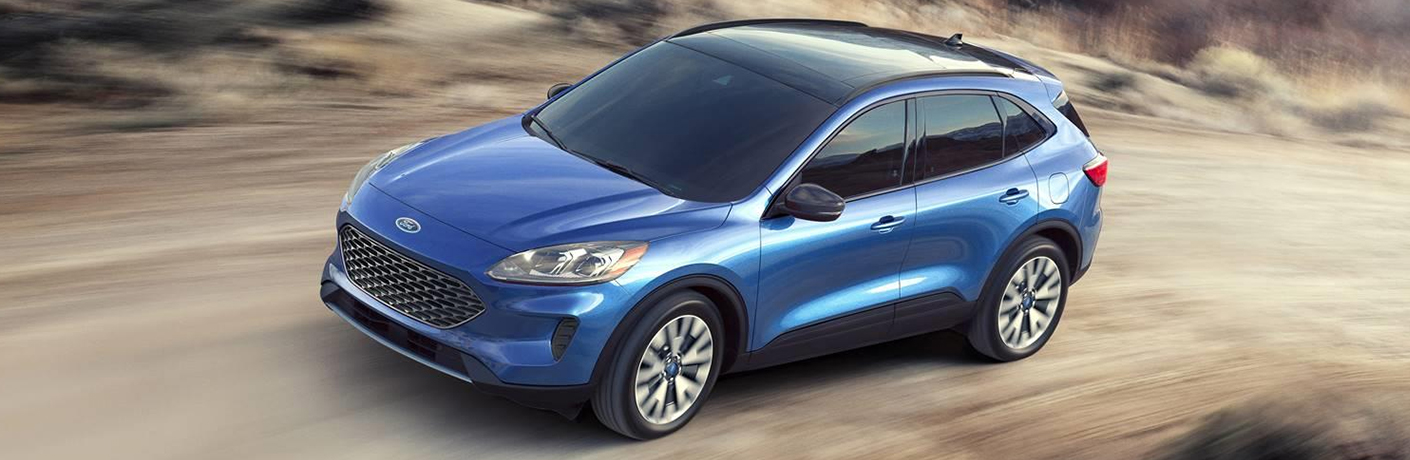 How long is the cargo space in a 2020 Escape?
