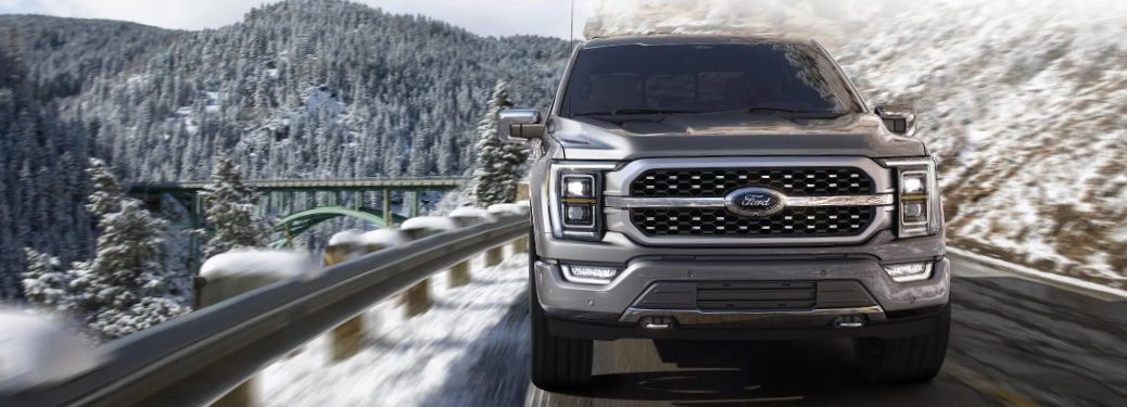 2021 Ford F-150 front fascia