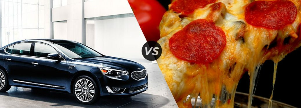 Kia Cadenza vs Pizza vs Tony Danza vs George Costanza Credenza