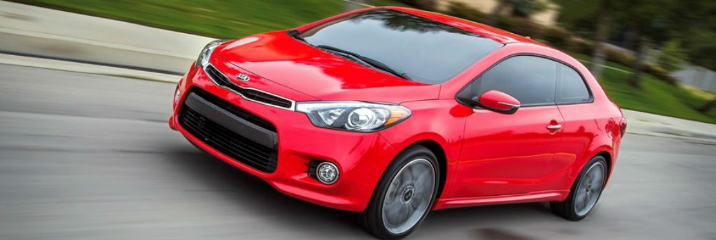 2016 Kia Forte Koup UVO eServices sport-tuned suspension racing wins 201 HP Friendly Kia New Port Richey St. Petersburg Tampa Clearwater Spring Hill FL