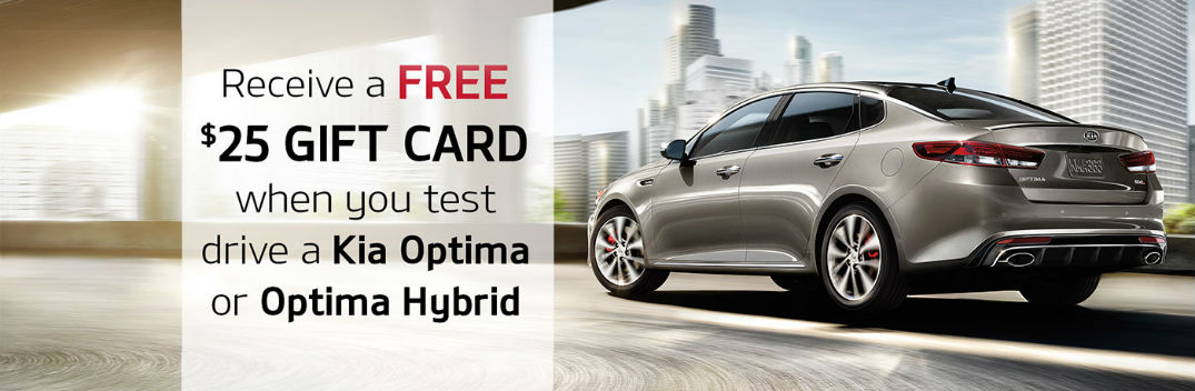 Test Drive an Optima or Optima Hybrid, and Go to the Movies for Free!