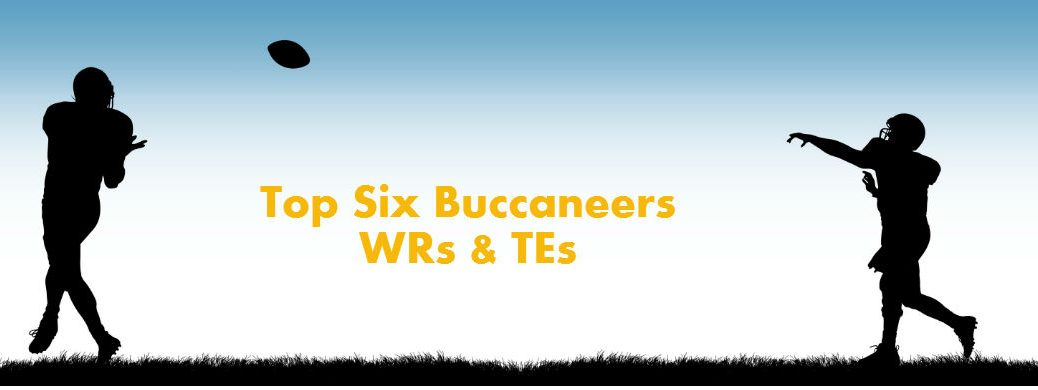Top six Buccaneers wide receivers and tight ends Tampa FL