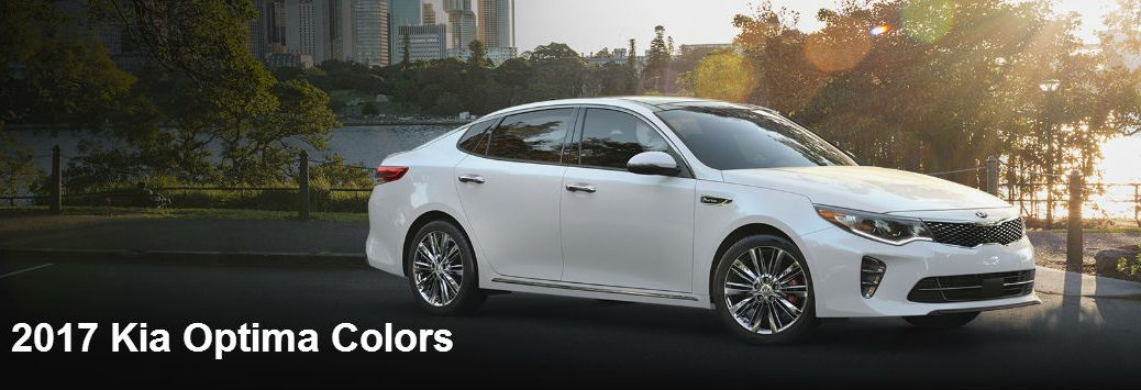2017 Kia Optima color options exterior and interior Friendly Kia Tampa Clearwater FL
