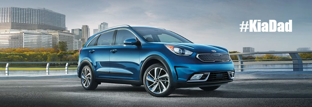 Dad 2.0 annual summit 2017 Kia Niro test drives with fathers