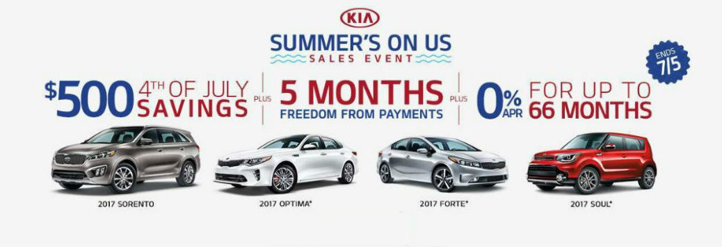 Summer's On Us sales event and additional 4th of July savings Tampa FL