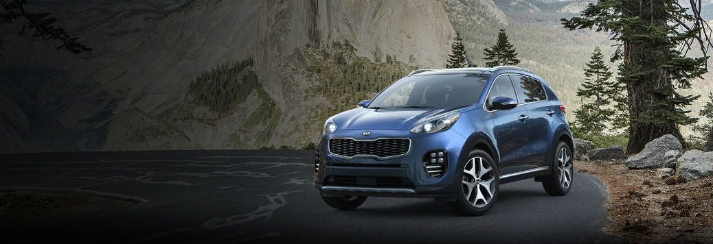 2018 Kia Sportage exterior paint colors and interior fabric options