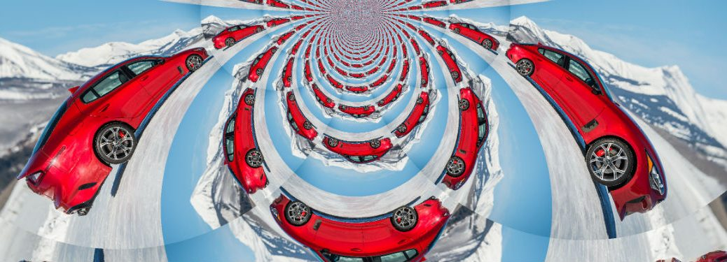 kia stinger kaleidoscope view