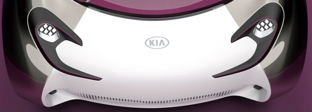 kia pop concept hood and headlights