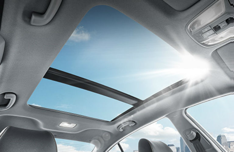 panoramic sunroof in Kia K4