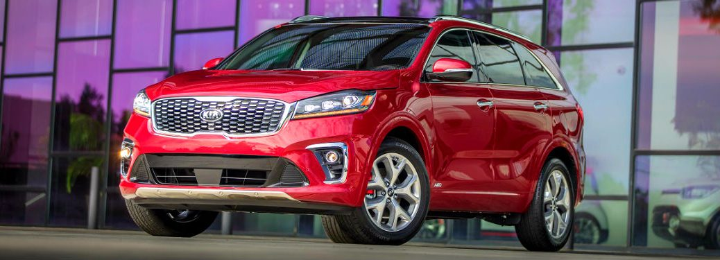 2020 Kia Sorento parked in front of a house