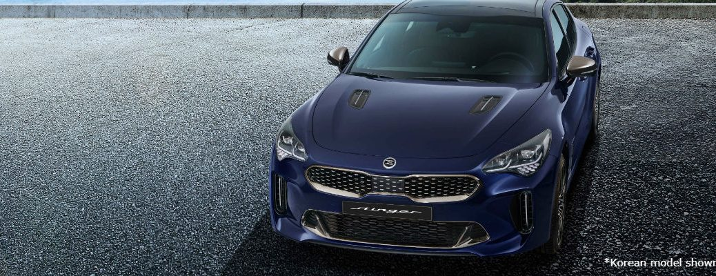 Blue Korean 2021 Kia Stinger