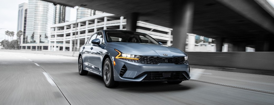All-Weather Drive Kia K5 Offers Safety and Confidence on the Road