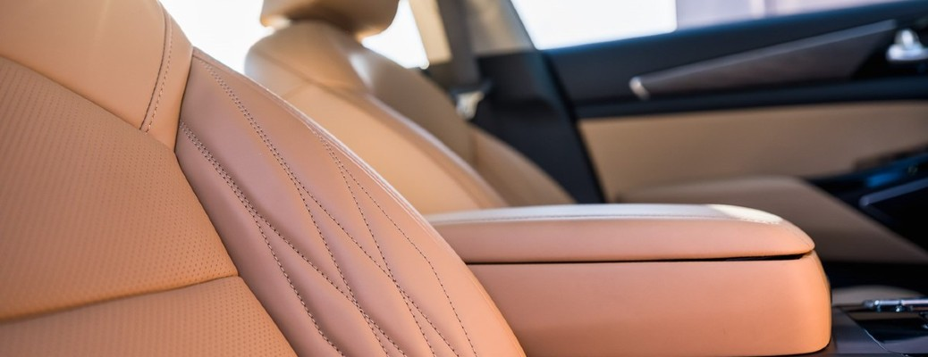 Nappa Leather Seating Availability in 2021 Kia SUVs and Sedans