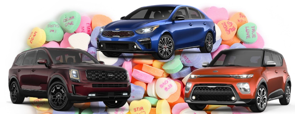 What Valentine's Day Candy Is Each Kia Eating?