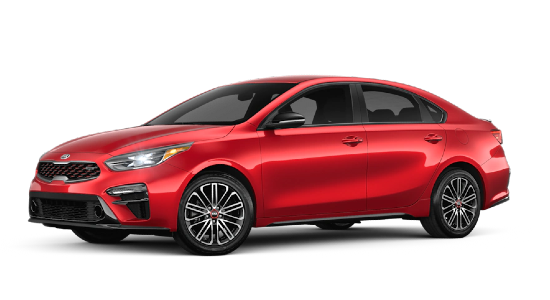 2021 Kia Forte in Currant Red