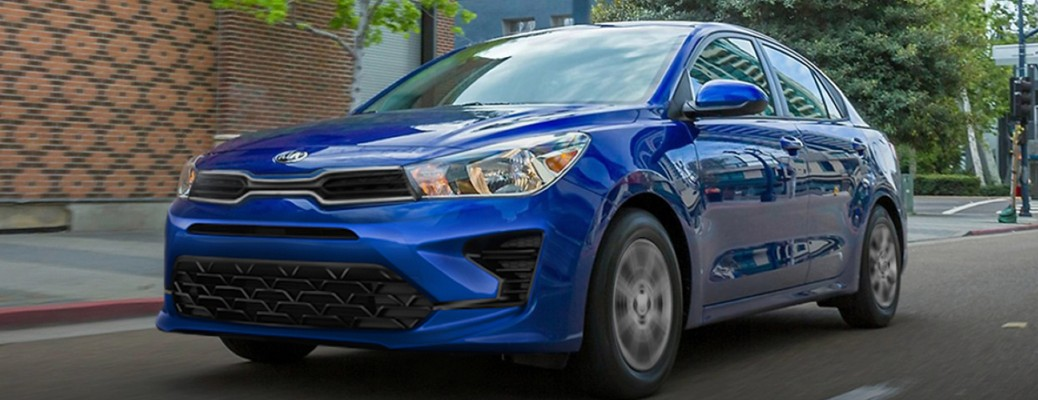 What Safety Features Does the Kia Rio Have?