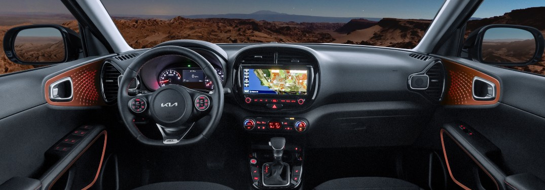View the 5 Available Interiors of the 2022 Kia Soul