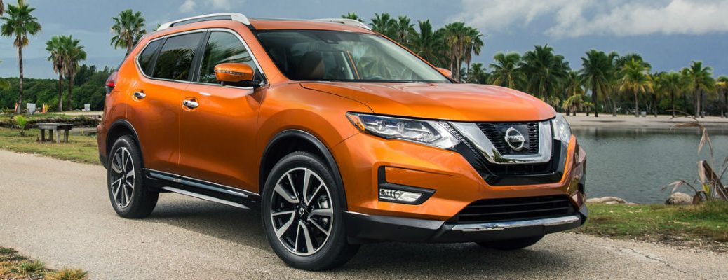 2017 Nissan Rogue special features