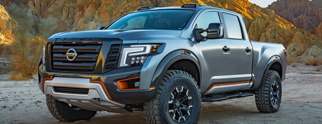 Push Boundaries with the Nissan Titan Warrior Exterior