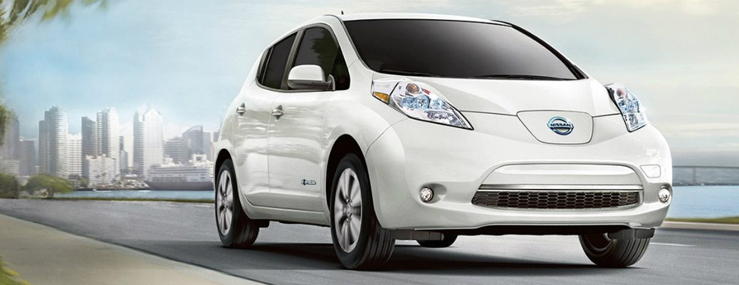 Technology and Driving Range of the 2017 Nissan Leaf Exterior