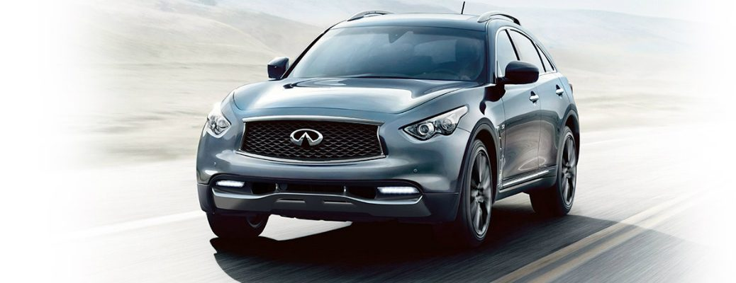 Technological Features of the 2017 INFINITI QX70 Exterior