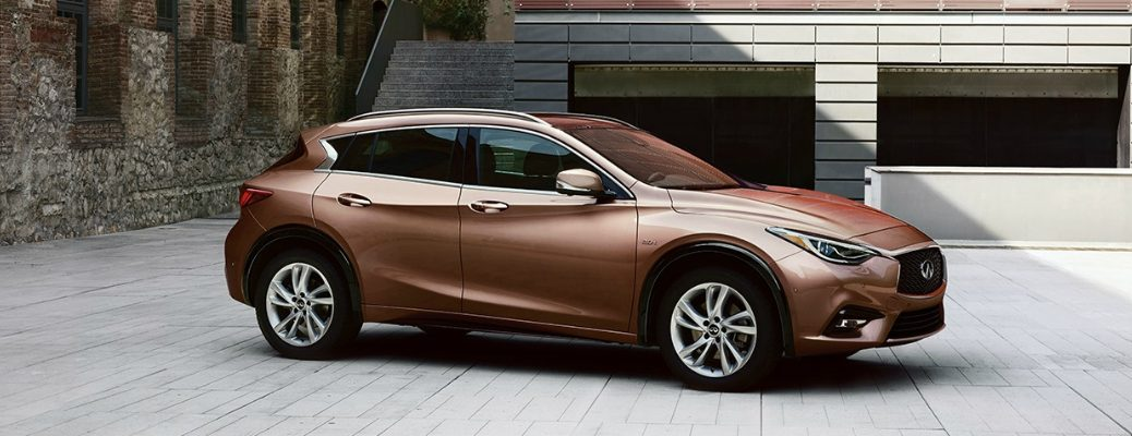 Standard and Available Features of the 2018 INFINITI QX30 Liquid Copper