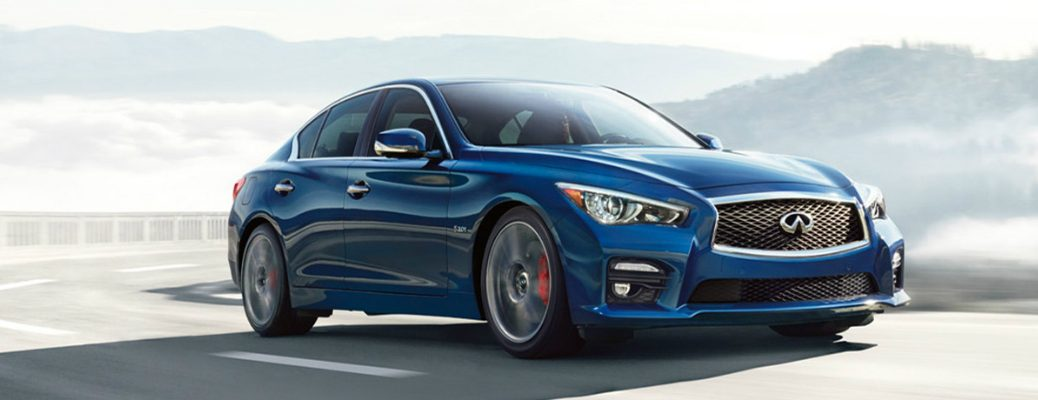 Technology Features on the 2017 INFINITI Q50 Exterior