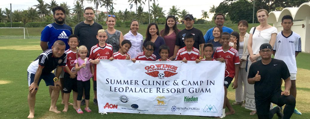 Nissan Guam Sponsors 2017 Wings Summer Clinic and Camp