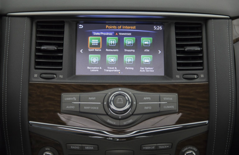 nissan connect display screen