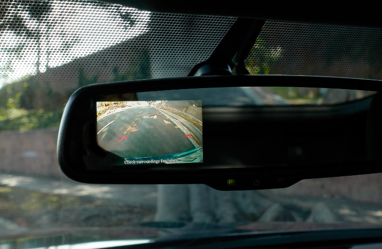 rearview monitor on nissan 370z rearview mirror