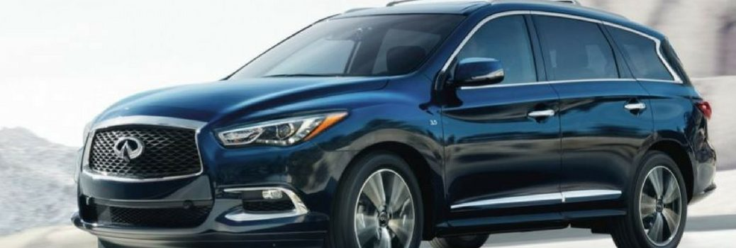 2019 INFINITI QX60 driving on the road