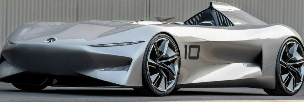 INFINITI Concept 10 parked front