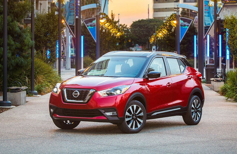 2018 Nissan Kicks parked outside