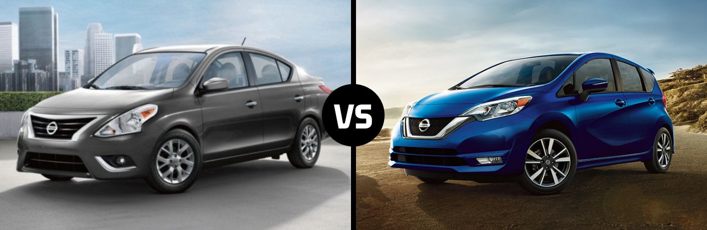What is the Difference Between the 2019 Nissan Versa and the 2019 Nissan Versa Note?