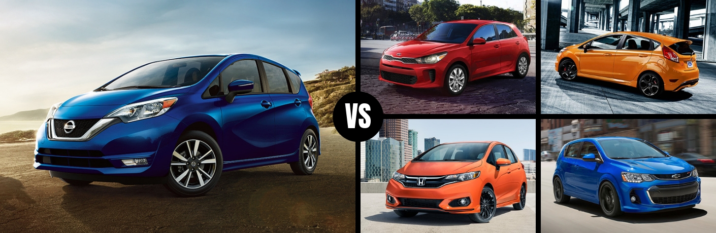 Where Does the 2019 Nissan Versa Note Rank Against its Competition?