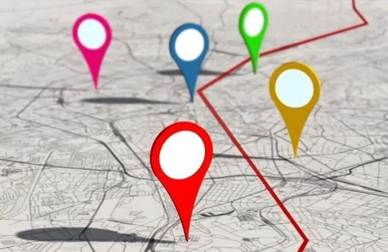 Image of a map to highlight the Convenience Services