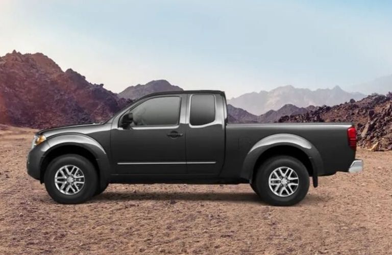 Image of a black 2019 Nissan Frontier King Cab®