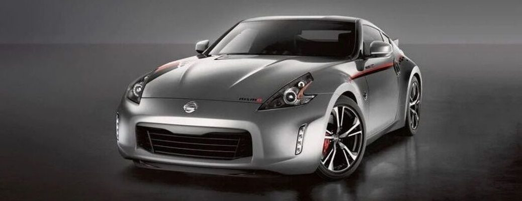 Exterior view of a gray 2020 Nissan 370Z