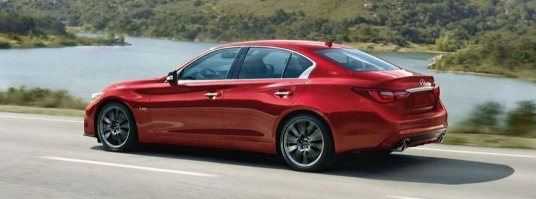What Technology and Connectivity Features Are Available inside the 2020 INFINITI Q50?