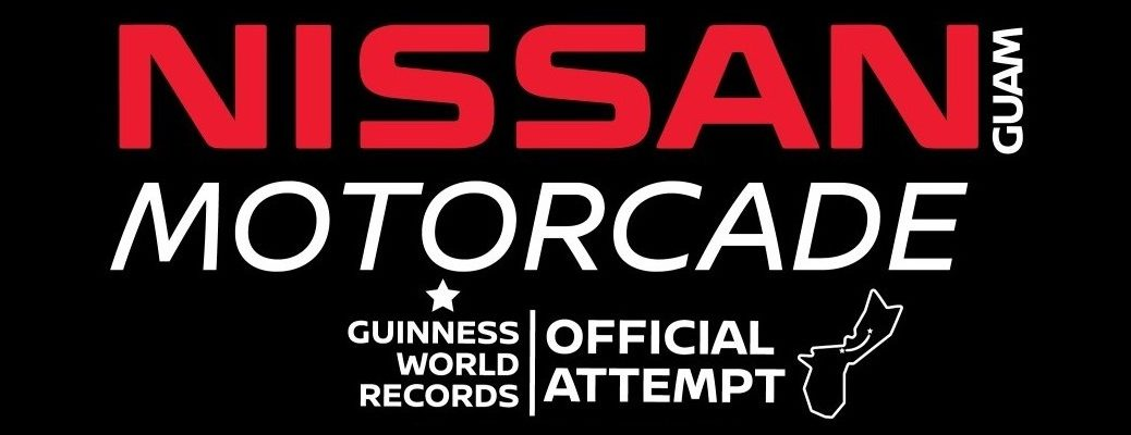 Nissan Guam Motorcade World Record Attempt banner