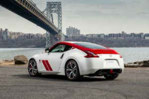 2020 Nissan 370z 50 red and white exterior rear fascia driver side parked
