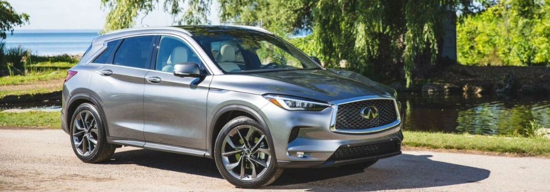 What safety features are available for the 2020 INFINITI QX50?