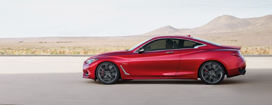 What Colors Are Available for the 2020 INFINITI Q60?
