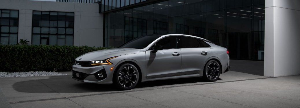 2021 Kia K5 from exterior front driver's side
