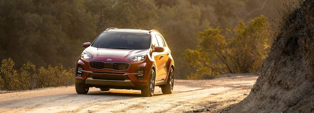 2020 Kia Sportage from exterior front