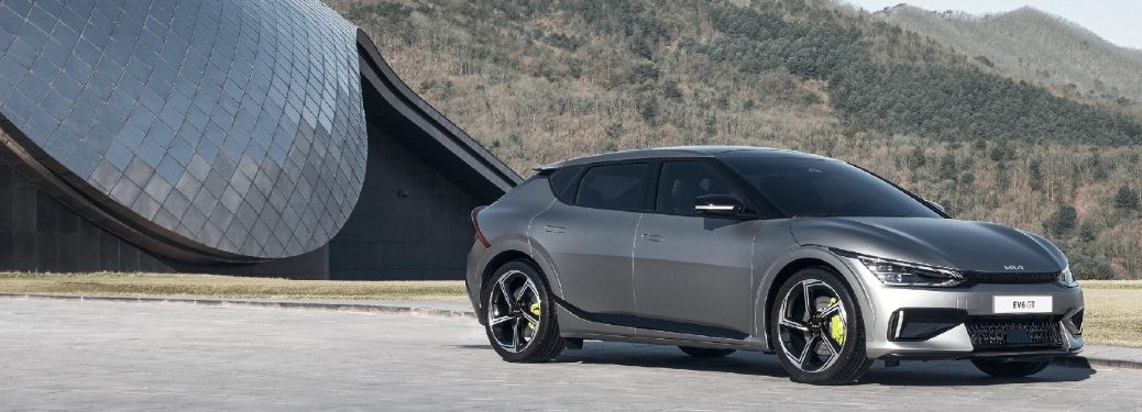 2022 Kia EV6 from front