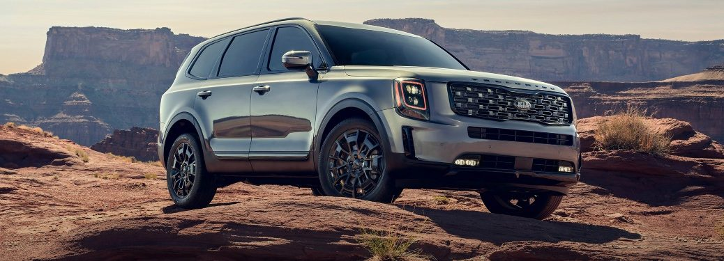 2021 Kia Telluride from exterior front