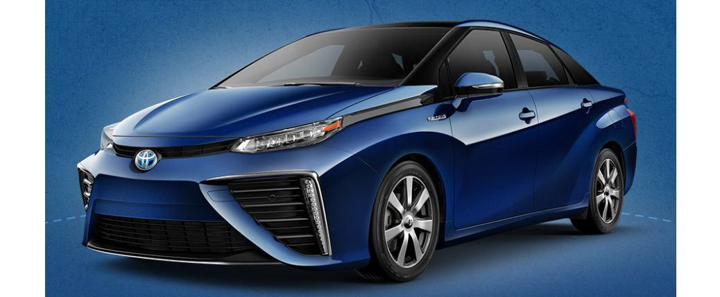 toyota fuel cell vehicle hydrogen technology